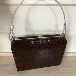 Alligator purse, upgraded vintage
